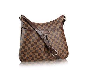 Louis Vuitton Sac à main brun foncé-marron clair