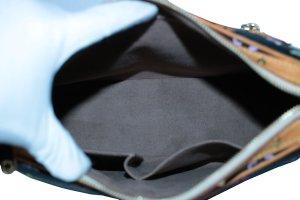 Louis Vuitton Bolso negro fibra textil