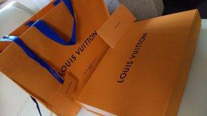 Louis Vuitton Box, Tüte, Band, Grüsskarte