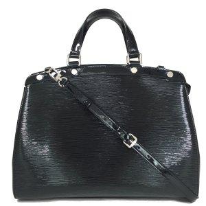 Louis Vuitton Sac à main noir-argenté