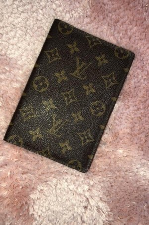 Louis Vuitton Porte-cartes brun noir-bronze