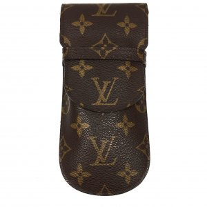 LOUIS VUITTON BRILLENETUI ETUI À LUNETTES RABAT AUS MONOGRAM CANVAS