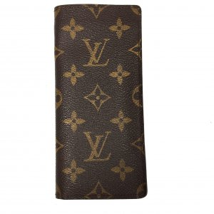LOUIS VUITTON BRILLENETUI ETUI À LUNETTES SIMPLE AUS MONOGRAM CANVAS