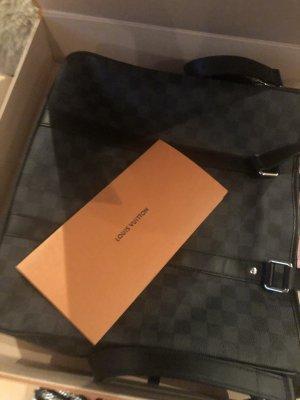 Louis Vuitton Zakentas antraciet-zwart