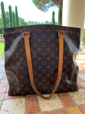 Louis Vuitton Canvas shopper braun