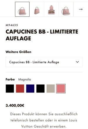 Louis vuitton CAPUCINES BB - LIMITIERTER AUFLAGE