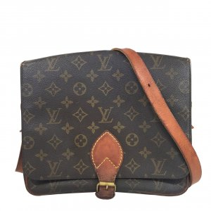 Louis Vuitton Cartouchiere GM Monogram Canvas Tasche, Handtasche, Umhängetasche