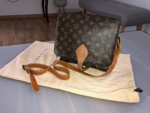 Louis Vuitton Crossbody bag bronze-colored-cream leather