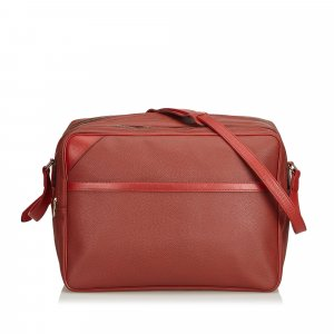 Louis Vuitton Crossbody bag red polyvinyl chloride
