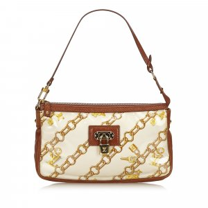 Louis Vuitton Bolso marrón clorofibras