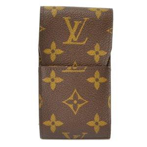Louis Vuitton Clutch brown textile fiber