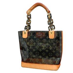 Louis Vuitton Sac fourre-tout brun matériel synthétique