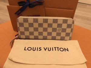 Louis Vuitton Portemonnee licht beige-lichtroze