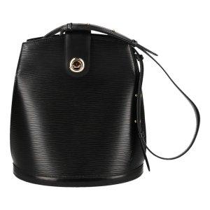 Louis Vuitton Handtas zwart-goud Leer
