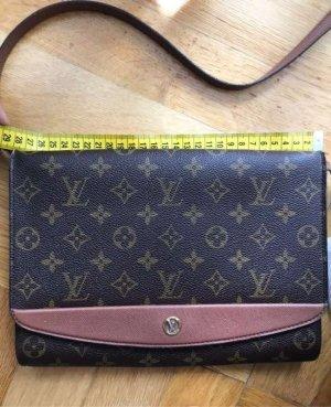 Louis Vuitton clutch bordeaux two way pm monogram ORIGINAL