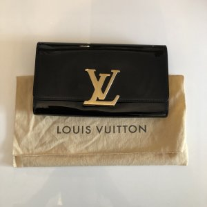 Louis Vuitton Bolso de mano negro-color oro