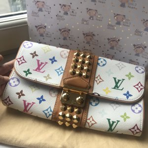 Louis Vuitton clutch multicolor