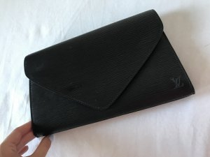 Louis Vuitton Clutch Schwarz aus der Pochette Epi Collection