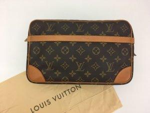 Louis Vuitton Sac de soirée brun cuir