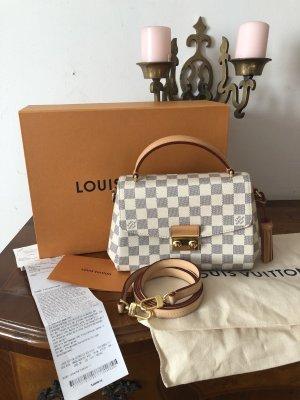 Louis Vuitton Croisette Damier Azure Full Set mit Rechnung