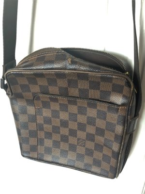 Louis Vuitton Cross Body Bag Unisex Damier Canvas Umhängetasche
