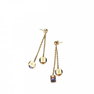 Louis Vuitton Earring gold-colored metal