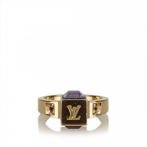 Louis Vuitton Ring gold-colored metal