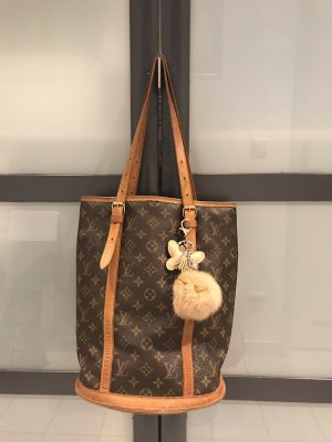 Louis Vuitton Damen Tasche Grund Bucket Monogramm
