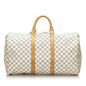 Louis Vuitton Travel Bag white