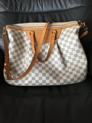 Louis Vuitton Damier Azur Siracusa GM Handtasche Schultertasche