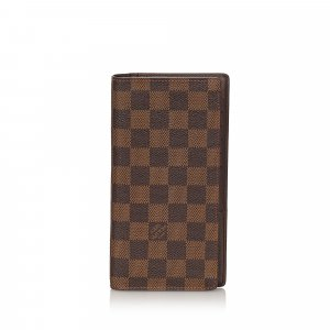 Louis Vuitton Damier Ebene Brazza Wallet
