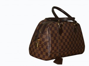 Louis Vuitton Frame Bag bronze-colored-light brown