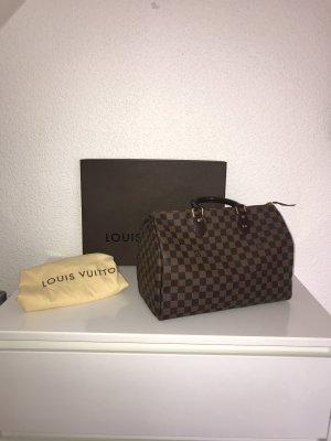 Louis Vuitton Damier Ebene Canvas Speedy 35