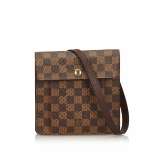 Louis Vuitton Sac porté épaule brun