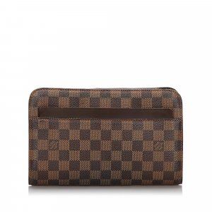 Louis Vuitton Damier Ebene Pochette Saint Paul
