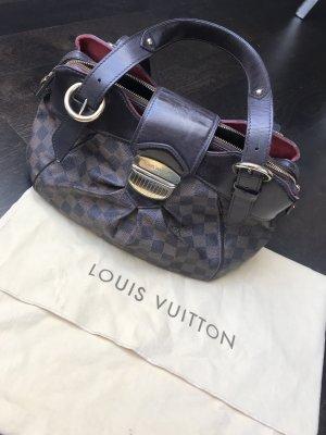 Louis Vuitton Sac à main brun foncé-cognac