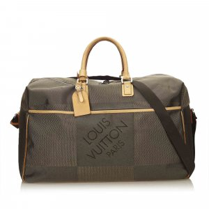 Louis Vuitton Damier Geant Souverain Travel Bag