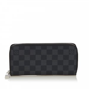 Louis Vuitton Damier Graphite Vertical Zippy Wallet