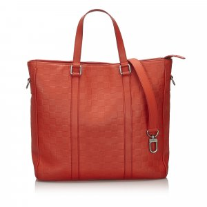 Louis Vuitton Sacoche rouge cuir
