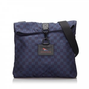 Louis Vuitton Damier Nylon LV Cup Alize Crossbody