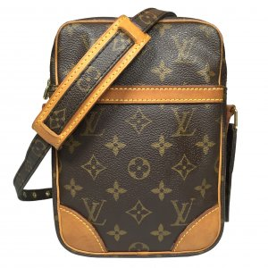 Louis Vuitton Danube Monogram Canvas Tasche Handtasche Crossbody