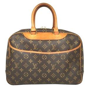 Louis Vuitton Deauville Monogram Canvas Tasche Handtasche Reisetasche