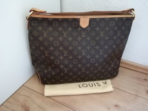 Louis Vuitton Shopper brun-marron clair