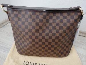 Louis Vuitton Schoudertas bruin-donkerbruin