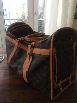 Louis Vuitton Weekendtas donkerbruin-bruin