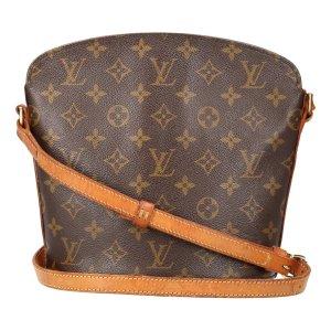Louis Vuitton Drouot Monogram Canvas Tasche, Handtasche, Umhängetasche