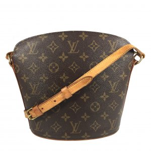 LOUIS VUITTON DROUOT UMHÄNGETASCHE AUS MONOGRAM CANVAS