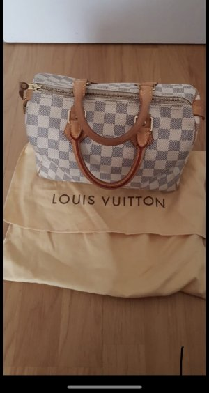 Louis Vuitton Bolso gris claro