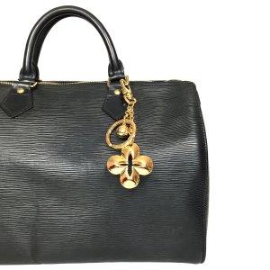 Louis Vuitton Eclipse Taschenschmuck Anhänger Schlüsselanhänger aus Metall