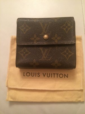 Louis Vuitton Portefeuille brun-bronze cuir
